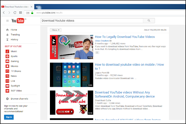 How to download youtube videos without any software download youtube videos without any software ccuart Gallery