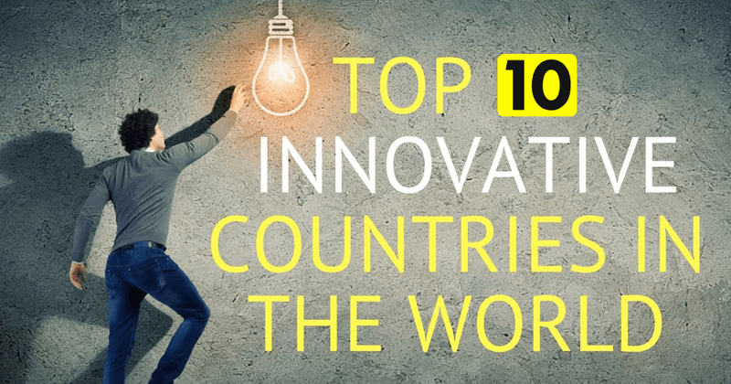 The 10 Most Innovative Countries In The World