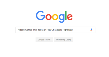 10+ Hidden Games That You Can Play On Google Right Now