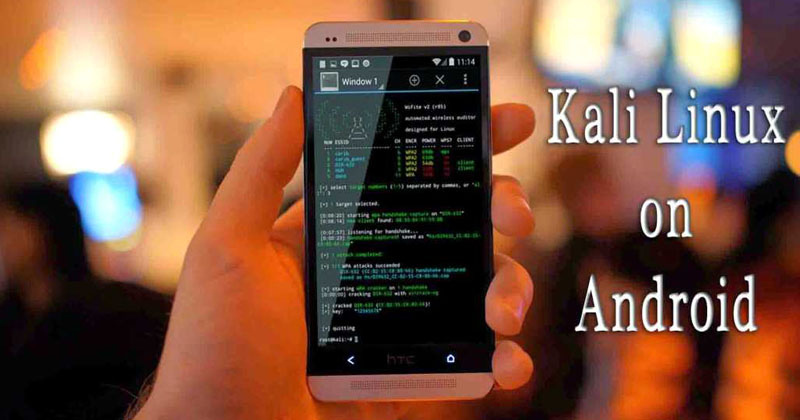 How To Install And Run Kali Linux On Android Device