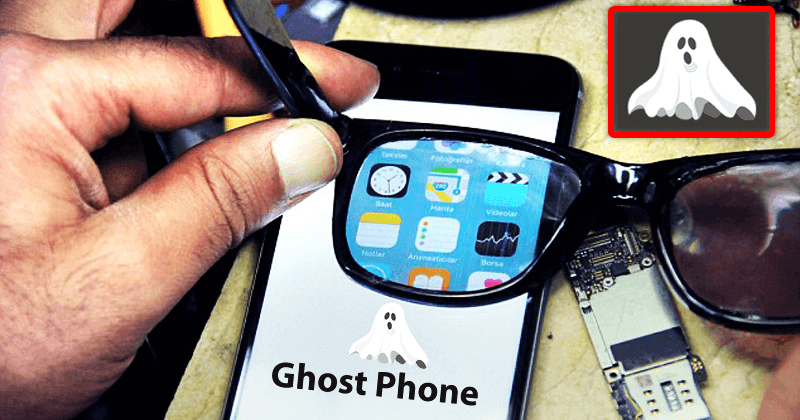 Meet The Ghost Phone That Only You Could See And Work On