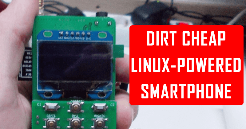 Meet The Open Source Linux-powered Smartphone