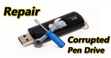 How To Fix A Corrupted Pen Drive Or SD Card Using CMD