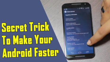 Here's A Secret Trick To Make Your Android Device Faster
