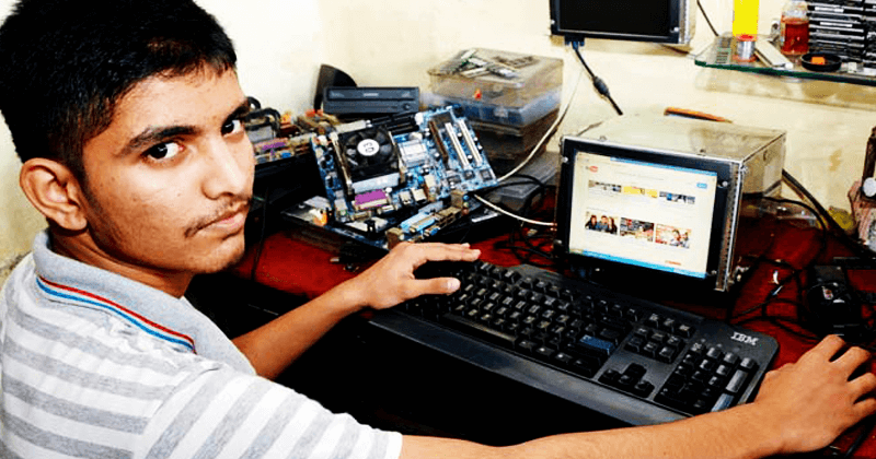 This Class 9 Dropout Kid Can Make A Computer From Any Leftover Tech