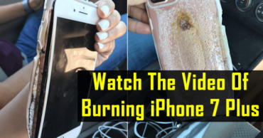 This Viral Video Of Burning iPhone 7 Plus Will Not Let Apple Users Sleep Tonight.