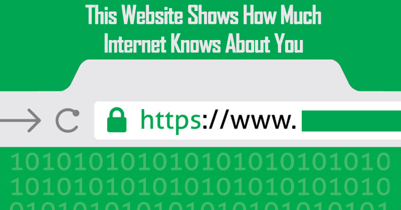 This Website Shows How Much Internet Knows About You