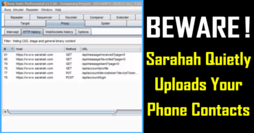 BEWARE! Sarahah App Quietly Uploads Your Phone Contacts