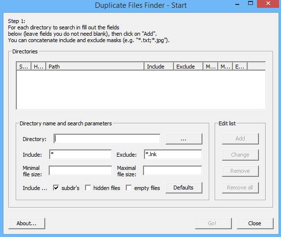 Find And Remove Duplicate Files