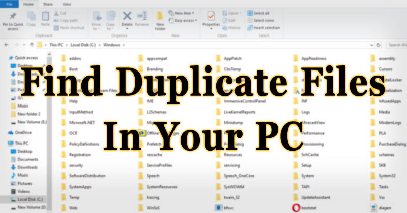 How To Find And Remove Duplicate Files From Your Computer