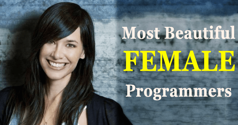 Meet The World's 5 Most Beautiful Female Programmers