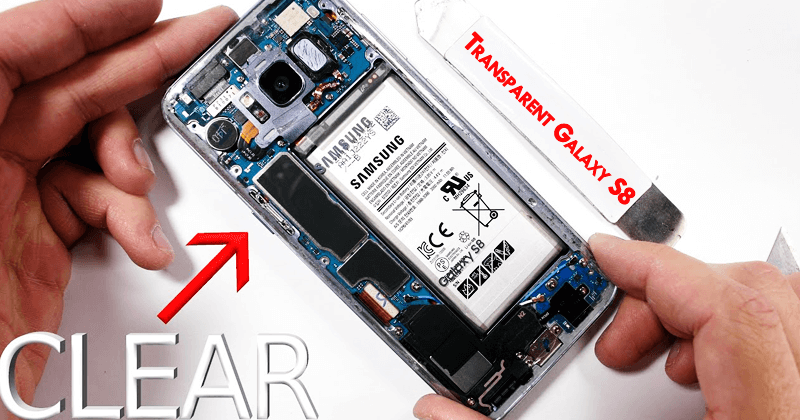 Meet The World's FIRST Transparent Samsung Galaxy S8