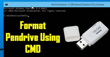 How To Format USB Pendrive Using Command Prompt (CMD)