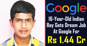 This 16-Year-Old Indian Boy Gets Dream Job At Google For Rs 1.44 Cr