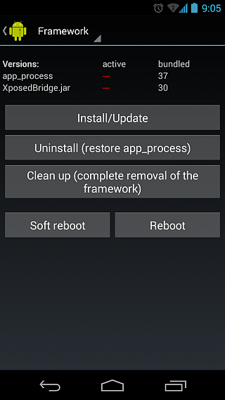 Install Xposed Framework On Your Android