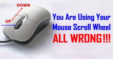 You Are Using Your Mouse Scroll Wheel All Wrong