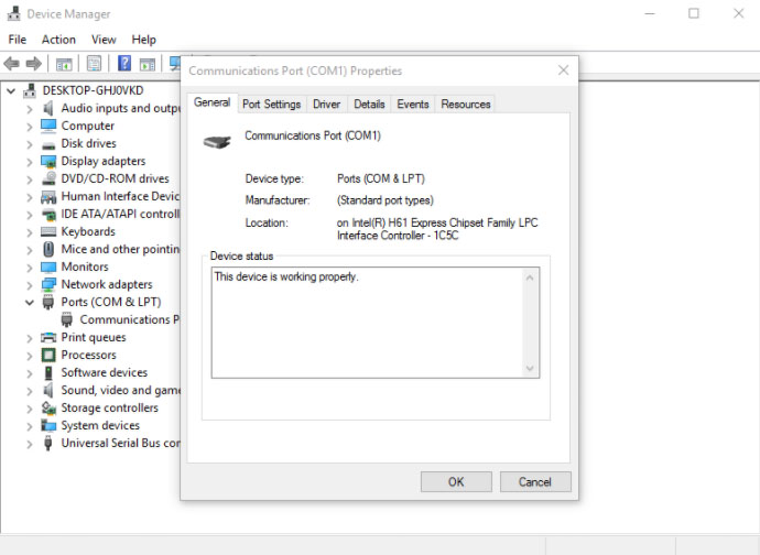 Using Device Manager