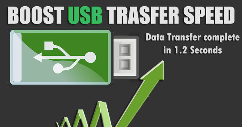 How To Increase Data Transfer Speed Of Pendrive