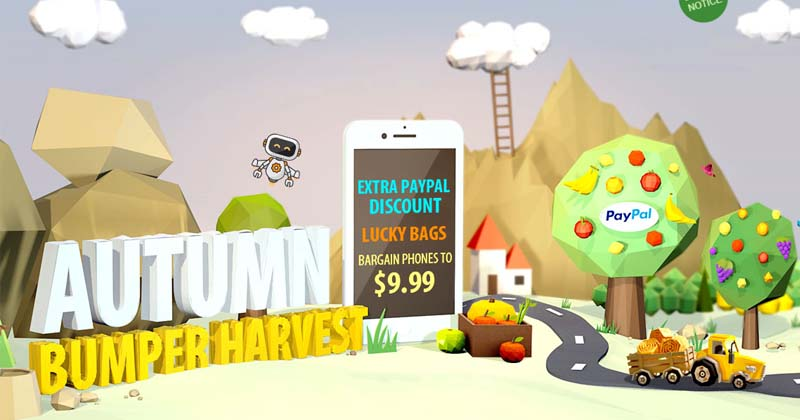 Don't Miss! GEARBEST SUPER Bumper Harvest SALE From 6th September