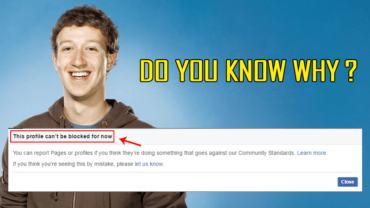 Here Is Why You Can't Block Mark Zuckerberg On Facebook