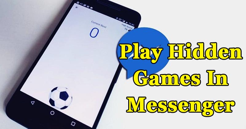 How To Play The Hidden Basketball & Football Game On Facebook Messenger
