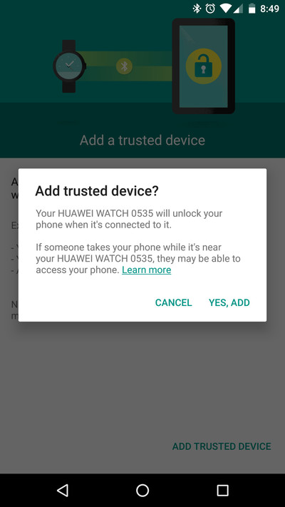 Trusted Device