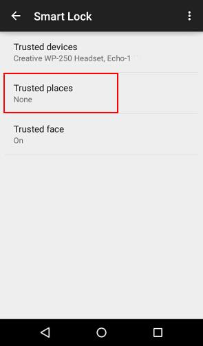 Trusted Places