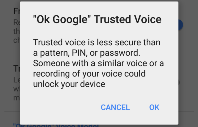 Trusted Voice