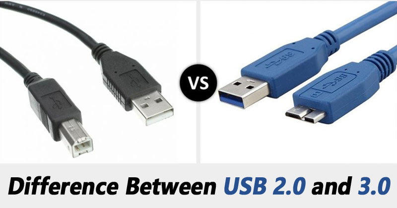 What's The Difference Between USB 2.0 And 3.0?