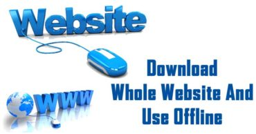 How To Download A Complete Website To Browse Offline Without Internet