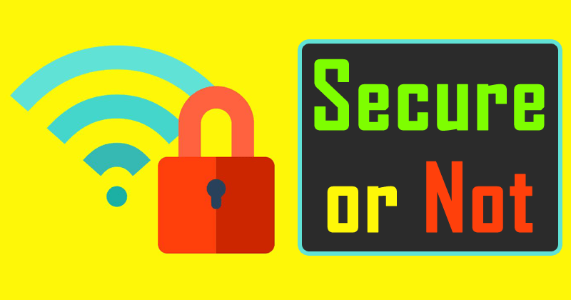 Does Wi-Fi Networks Are Secure?