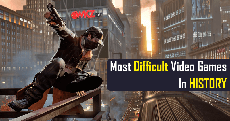 Here's The List Of Most Difficult Video Games In HISTORY