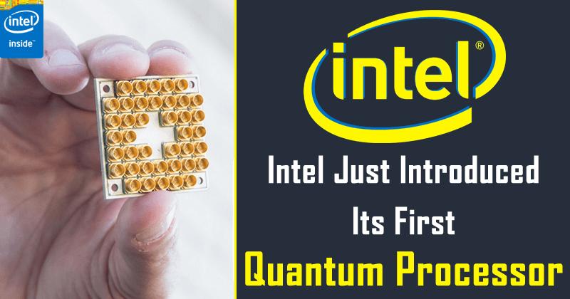Meet Intel's First Quantum Processor