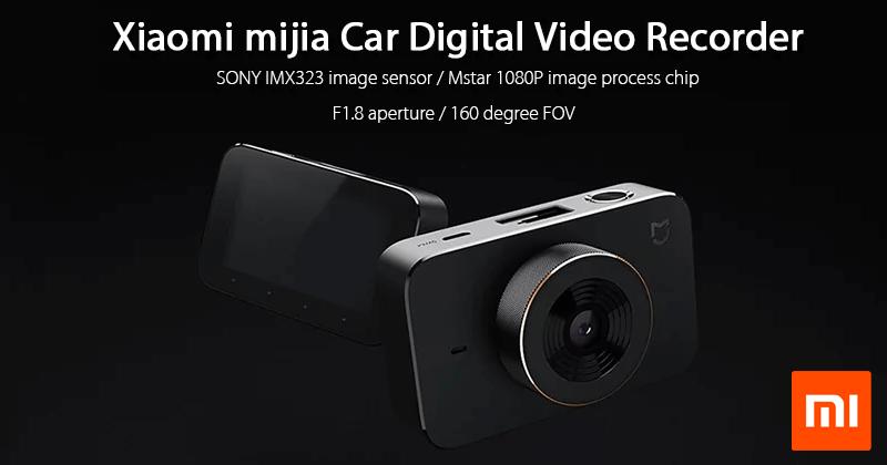 Meet The Best DASHCAM - Xiaomi Mijia Car DVR Camera