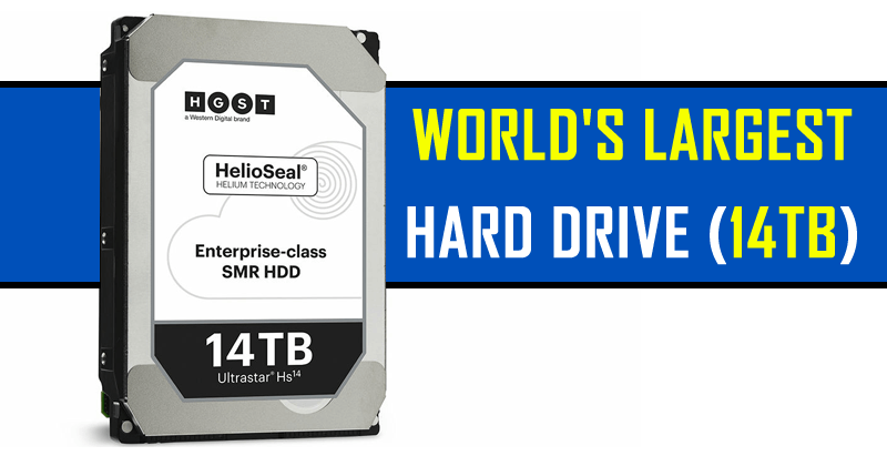 Meet The World's Largest Hard Drive And It Can Store 14TB