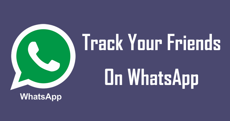 Now You Can Easily Track Your Friends And Strangers On WhatsApp