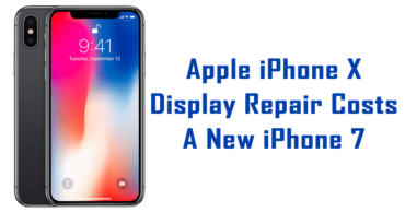 OMG! Apple iPhone X Display Repair Costs A New iPhone 7