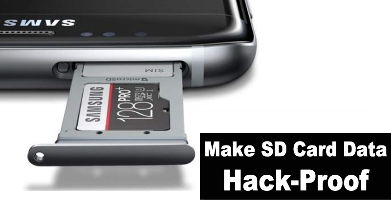 5 Simple Ways To Make Your SD Card Data Hack-Proof