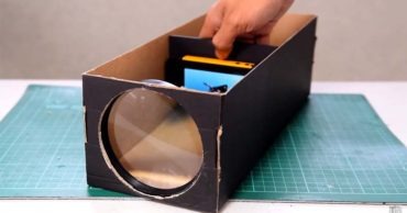 How To Build A Smartphone Projector From An Old Shoebox