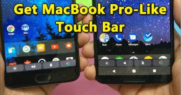 How To Get MacBook Pro-Like Touch Bar On Any Android