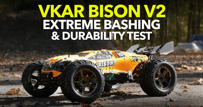 VKAR BISON V2 - The Extreme Anti-shock Waterproof Racing Car