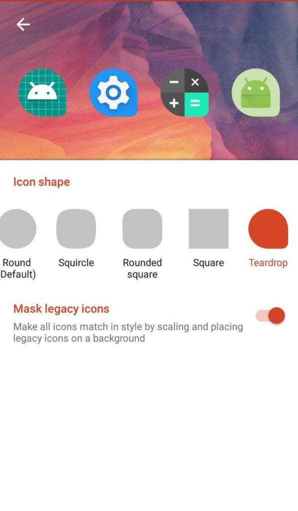Get Android Oreo Adaptive Icons