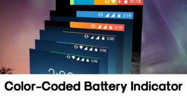How To Add A Color-Coded Battery Indicator On Your Android