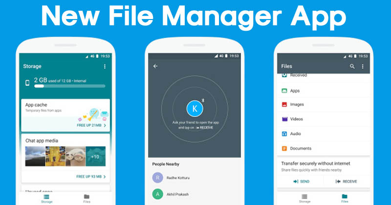 Google Just Launched Its Own File Manager App For Android