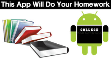 This Free App Will Do Your Homework For You