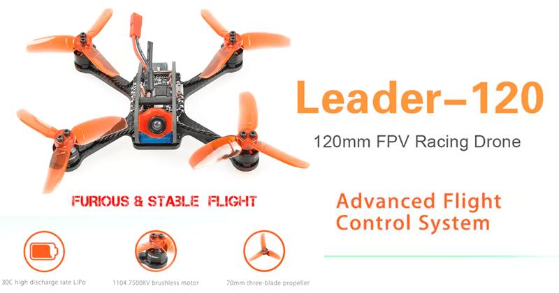 Meet The Leader - 120 120mm FPV Racing Drone