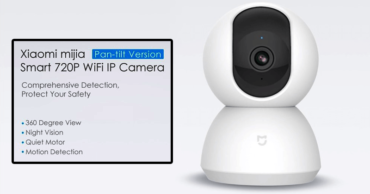 Meet The Xiaomi Mijia Smart 720P WiFi IP Camera Pan-tilt Version