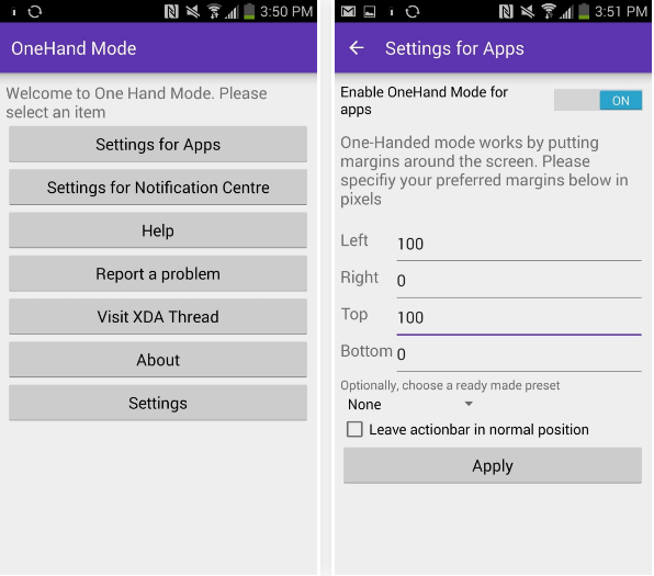Get One Hand Mode On Any Android