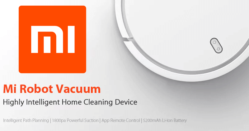 Original Xiaomi Smart Robot Vacuum Cleaner