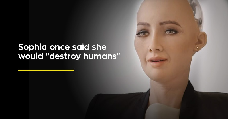 """Meet Sophia, The Robot Citizen Who Once Said It Would """"Destroy Humans"""""""